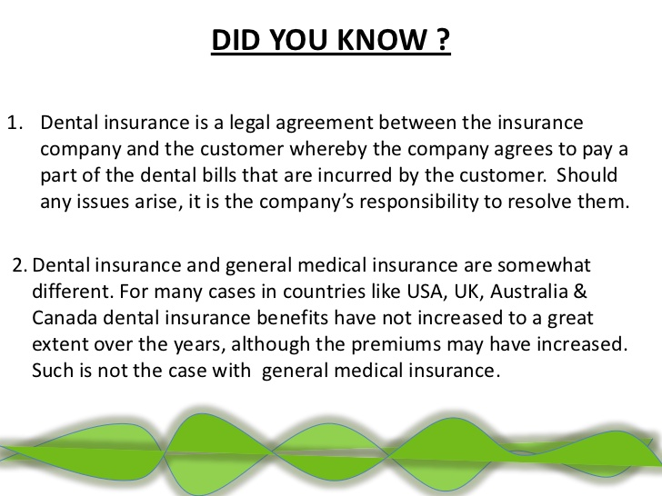 Dental Insurance Plans - 4 Top Reasons Why You Should Invest